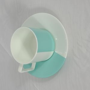 Tiffany cup and saucer